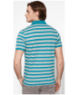 Men's Timberland Kennebec River Striped Jersey Polo Shirt - Back