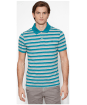 Men's Timberland Kennebec River Striped Jersey Polo Shirt - Front