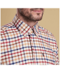 Men's Barbour Albert Tailored Shirt - Pillar Box Red