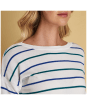 Women's Barbour Marloes Knitted Sweater - Neckline