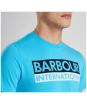 Men's Barbour International Cap Crew Neck T-Shirt - Barbour International graphic