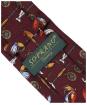 Men's Soprano Fishing Tackle Tie - Wine