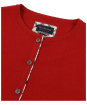 Women's Barbour Hamerley Cardigan - Red