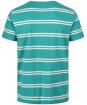 Men's GANT Double Breton Striped T-Shirt - Back