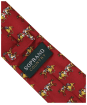 Boy's Soprano Horse Racing Country Silk Tie - Red