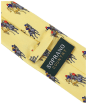 Men's Soprano Final Furlong Silk Tie - Yellow