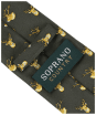Men's Soprano Stags Heads Tie - Country Green