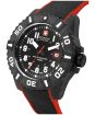 Men's Swiss Military Hanowa Black Carbon Watch - Black