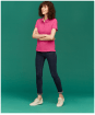 Women's Joules Pippa Polo Shirt - Full model shot