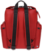 Hunter Original Top Clip Backpack - Rubberised Leather - Military Red