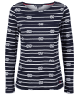 Women's Crew Clothing Essential Rope Stripe Breton - Navy / White