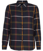 Women's Barbour Oxer Shirt - Navy Check