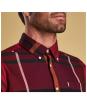 Men's Barbour Dunoon Shirt - Red
