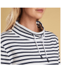 Women's Barbour Southwold Sweatshirt - Funnel neckline