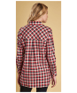 Women's Barbour Bernera Shirt - Reef Red Check