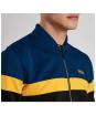Men's Barbour International Curve Track Top - Zip fasten and collar