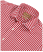 Men's Schoffel Harlington Shirt - Red Gingham
