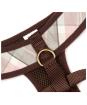 Barbour Tartan Dog Harness - Pink / Grey Tartan