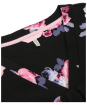 Women's Joules Elva Jersey Tunic Top - Black Winter Floral
