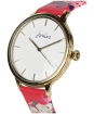 Women's Joules Rae Watch - White / Raspberry