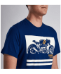 Men's Barbour International Regulator Tee - Inky Blue