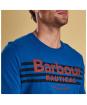 Men's Barbour Bluefin Tee - True Blue