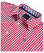 Men's Crew Clothing Classic Gingham Shirt - Cherry