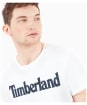 Men's Timberland Kennebec River Brand Tee - White Linear