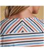 Women's Barbour Pebble Top - White Stripe