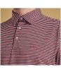 Men's Barbour Performance Stripe 2 Polo Shirt - Pink
