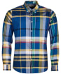 Men's Barbour Highland 2 Tailored Shirt - Mid Blue