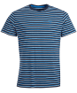Men's Barbour Crane Stripe Tee - Navy