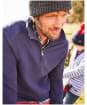 Men's Joules Dalesman Zip Neck Sweatshirt - Navy