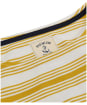 Women's Joules Harbour Top - Gold Stripe