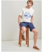 Men's Joules Graphic Tee - Cream Marl