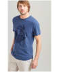 Men's Joules Graphic Tee - French Navy Marl