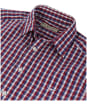 Men's R.M. Williams Collins Shirt - Blue / White / Red