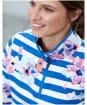Women's Joules Fairdale Print Sweatshirt - Blue Stripe Floral