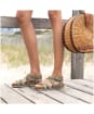 Women's Timberland Malibu Waves Ankle Strap Sandals - Olive Nubuck