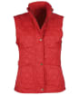 Women's Barbour Summer Liddesdale Gilet - Red