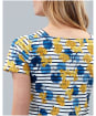Women's Joules Francis Square Neck Dress - Lilypad Border Stripe