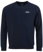 Men's Barbour International Essential Crew Neck Sweat - International Navy