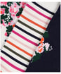 Women's Joules Brilliant Bamboo 3-Pack Socks - White Multi Floral
