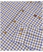 Men's Alan Paine Bury Fleece Lined Shirt - Brown Check