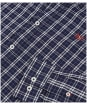 Men's Crew Clothing Millom Slim Shirt - Heritage Navy