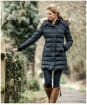 Women's Schoffel Mayfair Down Coat - Navy