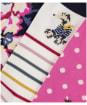 Women's Joules Brilliant Bamboo 30th Anniversary Socks - Cambridge Anniversary Floral