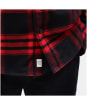 Men's Timberland LS Back River Flannel Check Shirt - Barbados Cherry