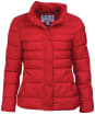 Women's Barbour Upland Quilted Jacket - Brick Red