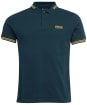 Men's Barbour International Essential Tipped Polo Shirt - BENZINE